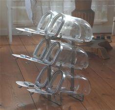 DIXI miniatyr godisställ karamellställ lanthandel retro glasburkar på