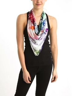 Beat the heat with this summer scarf.
