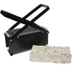 Newspaper brick-maker for use w/ wood burning stoves - or camping...