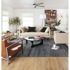 Slim End Tables in Natural Steel - End Tables - Living - Room & Board