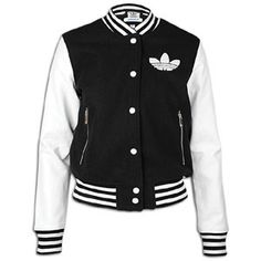 adidas Originals Collegiate Wool Jacket - a great campus look that will keep you warm as the temps drop!