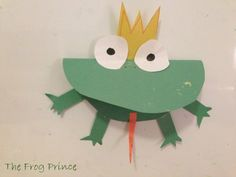 Preschool Story and Craft Ideas Frog Prince