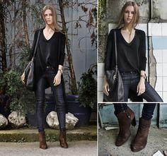 Michael Kors Bag, Mavi Jeans, Mango Boots great for fall
