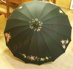 Paraguas con roras
