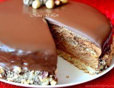 """Рождественский торт-мусс """"Ферреро"""" (Karácsonyi Ferrero torta)"""