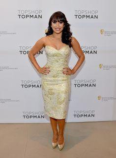 Cheryl Burke Strapless Dress - Strapless Dress Lookbook - StyleBistro