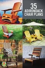 Resultado de imagen para adirondack chair plans free
