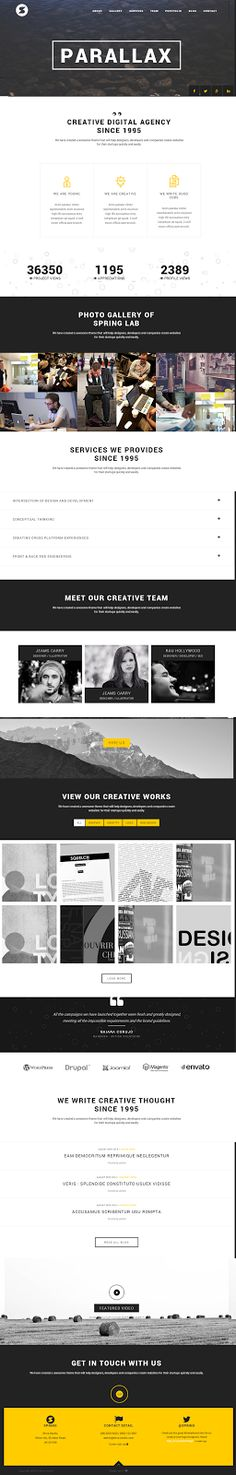 Spring is an creative one page #WordPress Theme. This theme is simple, clean and #elegant one page #template with perfectly #responsive (Bootstr...