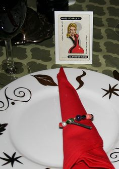 Clue Murder Mystery Party. The fun, the costumes, the solving of clues...FUN fun fun.