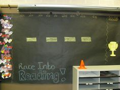 AR reading board.
