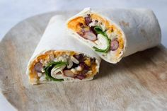I Love Health | healthy vegan burrito, recipe, wraps, hummus, pumpkin | http://www.ilovehealth.nl