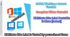 The Lite KMSAuto - a utility intended for inconvenience free and fast initiation of Windows working frameworks 7, 8, 8.1, 10 via @https://www.pinterest.com/pccrack/