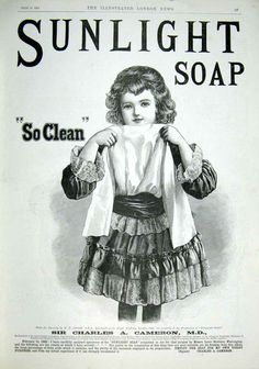 Shop Sunlight Soap Laundry Poster created by Vintage_Obsession. Personalize it with photos & text or purchase as is! Vintage Labels, Vintage Ephemera, Vintage Cards, Vintage Paper, Vintage Advertising Posters, Vintage Advertisements, Vintage Posters, Vintage Prints, Primitive Labels