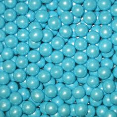 Shimmer Powder Blue Sixlets