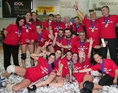 Just days after the conquest of the first National Championship in their history, the women's team of Olympiakos at volleyball won the Cup!So the first double in their history!I wish you many more titles!
