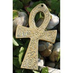 De sleutel van het leven. Bekend als levenssymbool van de oude egyptische beschaving. Staat voor oneindige wijsheid en kracht. Lengte: 15,5 cm.