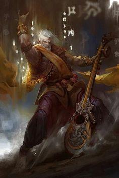 Fantasy Male, Fantasy Heroes, High Fantasy, Fantasy Rpg, Fantasy Warrior, Fantasy Magician, Fantasy Artwork, Fantasy Inspiration, Medieval Fantasy