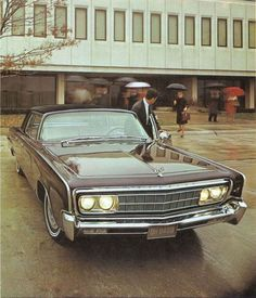 1966 Chrysler Imperial. This thing used to drive me to high school and back!