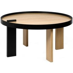 Designový konferenční stolek Puro, dubová dýha