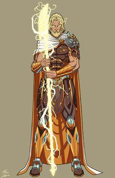 Classical Zeus commission by phil-cho.deviantart.com on @DeviantArt