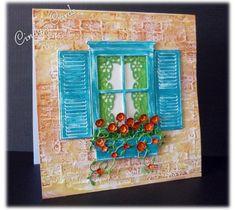 Mediterranean Flower Box by frenziedstamper - Cards and Paper Crafts at Splitcoaststampers