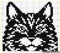 Filet Crochet Charts, Crochet Cross, Knitting Charts, Loom Knitting, Knitting Patterns, Crochet Patterns, Cross Stitching, Cross Stitch Embroidery, Cross Stitch Patterns