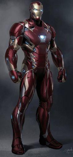 Iron Man Mark XLVI Civil War JEB