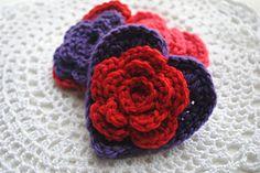 Ravelry: Layered Daisy in a Heart pattern #freepattern #valentinesday #crochet