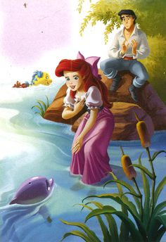 Ariel and Eric...forever my favorite Disney couple! <3..... seriously if this picture isn't me, I don't know what is