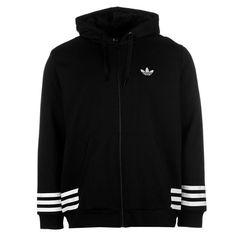 adidas Street Graphic Full Zip Hoody Black Hoodie Jacket Top Sportswear   Clothing, Shoes & Accessories, Men's Clothing, Sweats & Hoodies   eBay!