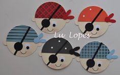 Pirates would love to make this with Stampin' Up Punches!!! #Stampinup #punchart
