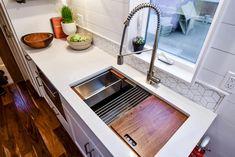 Kitchen Sink - Urban Payette w/ Office by Truform Tiny