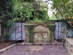 Garden Design & Build #landscaping #gardendesign #gardendesigncheshire #englishgarden #reclaimedstone #gardenfeature #stonegardenfeature #victoriangarden #gardenarch #arbour #ivy #stoneedging
