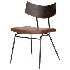 Nuevo Modern Furniture Soli Dining Chair Caramel Leather on Seared Oak Oak Dining Chairs, Leather Dining Chairs, Upholstered Dining Chairs, Dining Chair Set, Dining Room Furniture, Table And Chairs, Modern Furniture, Side Chairs, Stacking Chairs