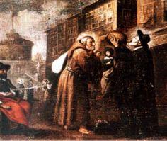 St. Philip meeting St. Felix in Rome…