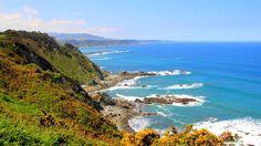 Asturia, Hiszpania - atrakcje góry, Somiedo, Oviedo, rowery