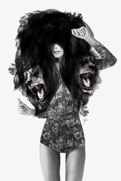 lion2 by Jenny Liz Rome  >>amazeballs