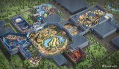 Jurassic Dream: Building A Theme Park In Remote China