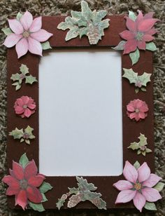 Comfy Christmas hand painted 4x6 wood picture frame by GIFToLOTY, $12.00