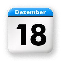 18. Dezember - December 18