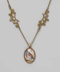 Goldtone Owl Necklace 10.99