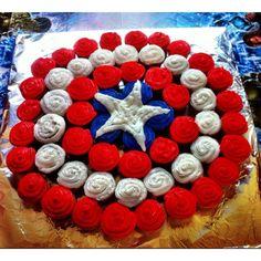 captin america birthday cake - Google Search