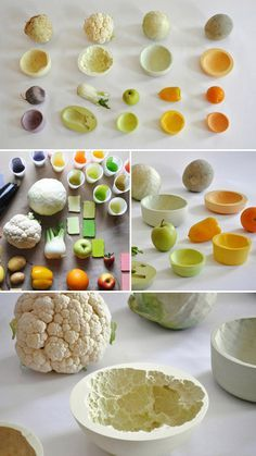 idea for molds? ... (Reversed volumes is a series of ceramic bowls made by mischer'traxler . They are available in DesignMarketo)