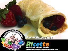 Protein Dessert Crepe