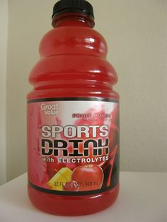 Great Value: A Sports Drink for idiots