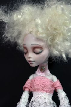New Drifting Ambiance OOAK Monster High Custom Repaint Fantasy Lagoona Art Doll | eBay