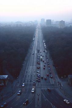 Foggy day in Berlin