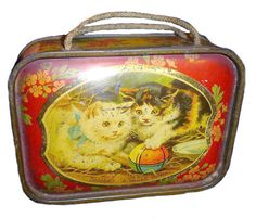 Rare Carr & Co. Little Guardian British Biscuit Tin circa 1903