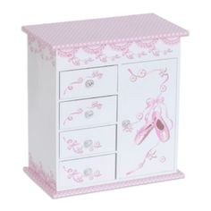 "Buy Mele & Co. Carly Musical Ballerina Jewelry Box from Bed Bath & Beyond •Ballerina inside dances to ""Waltz of the Flowers"""