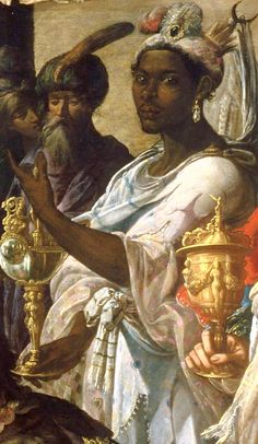 Georges Lallemand; formerly attributed to Claude Vignon  Adoration of the Magi  France (1630)  Oil on Canvas, 189 x 315.5 cm.  Musée des Beaux-Arts de Lille